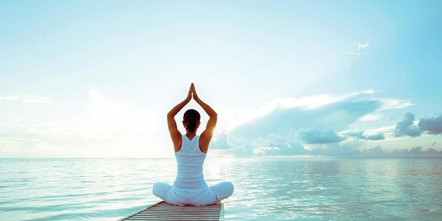 Yoga Helps Beat The Fear Of Coronavirus The New Indian Express