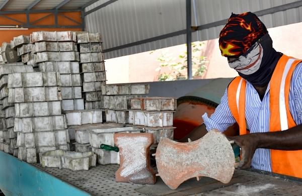A classic case of 'best out of waste': Eco-friendly bricks from ash residue