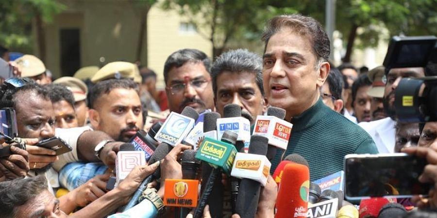 Actor and Makkal Needhi Maiam chief Kamal Haasan