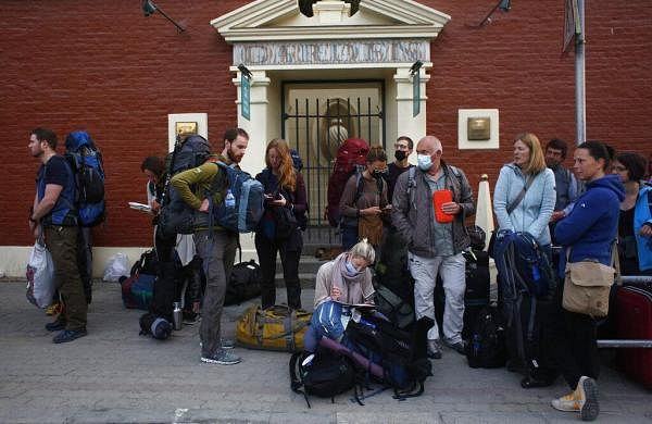 Nepal rescues over 1,200 tourists as coronaviruslockdown continues