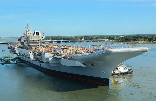 Lockdown brings construction of Indigenous Aircraft Carrier to a halt in Kochi