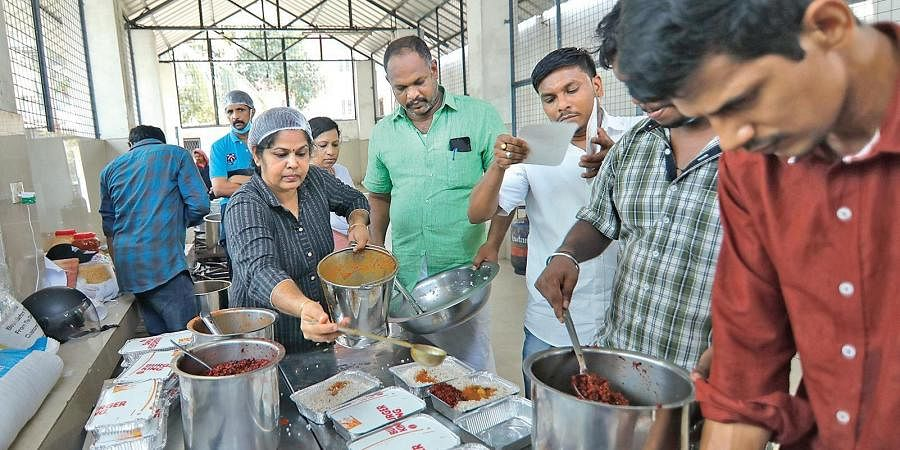 Kerala government went back to the idea of community kitchens which it had implemented during the back-to-back floods of 2018 and 2019.