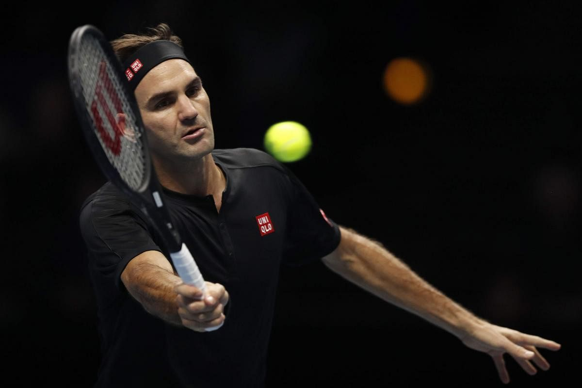 Watch Roger Federer Throws Volleying At Home Challenge The New Indian Express