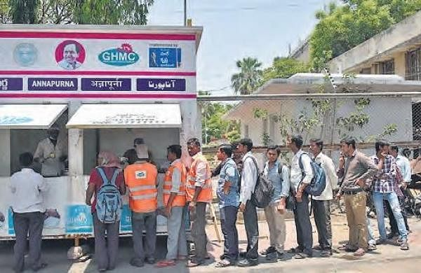 GHMC operates 70 more Annapurna canteens in Hyderabad