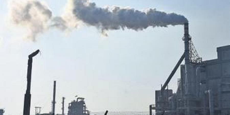 Industrial area, Air pollution, Factory, Manufacturing plant