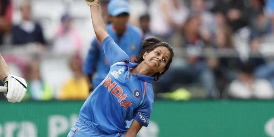 Indian women bowler Poonam Yadav