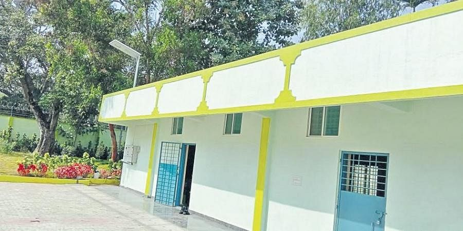 The detention centre in Sondekoppa village of Nelamangala taluk,  about 40km from Bengaluru.
