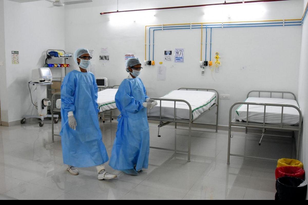 Man with coronavirus-like symptoms admitted to Nashik hospital- The New  Indian Express