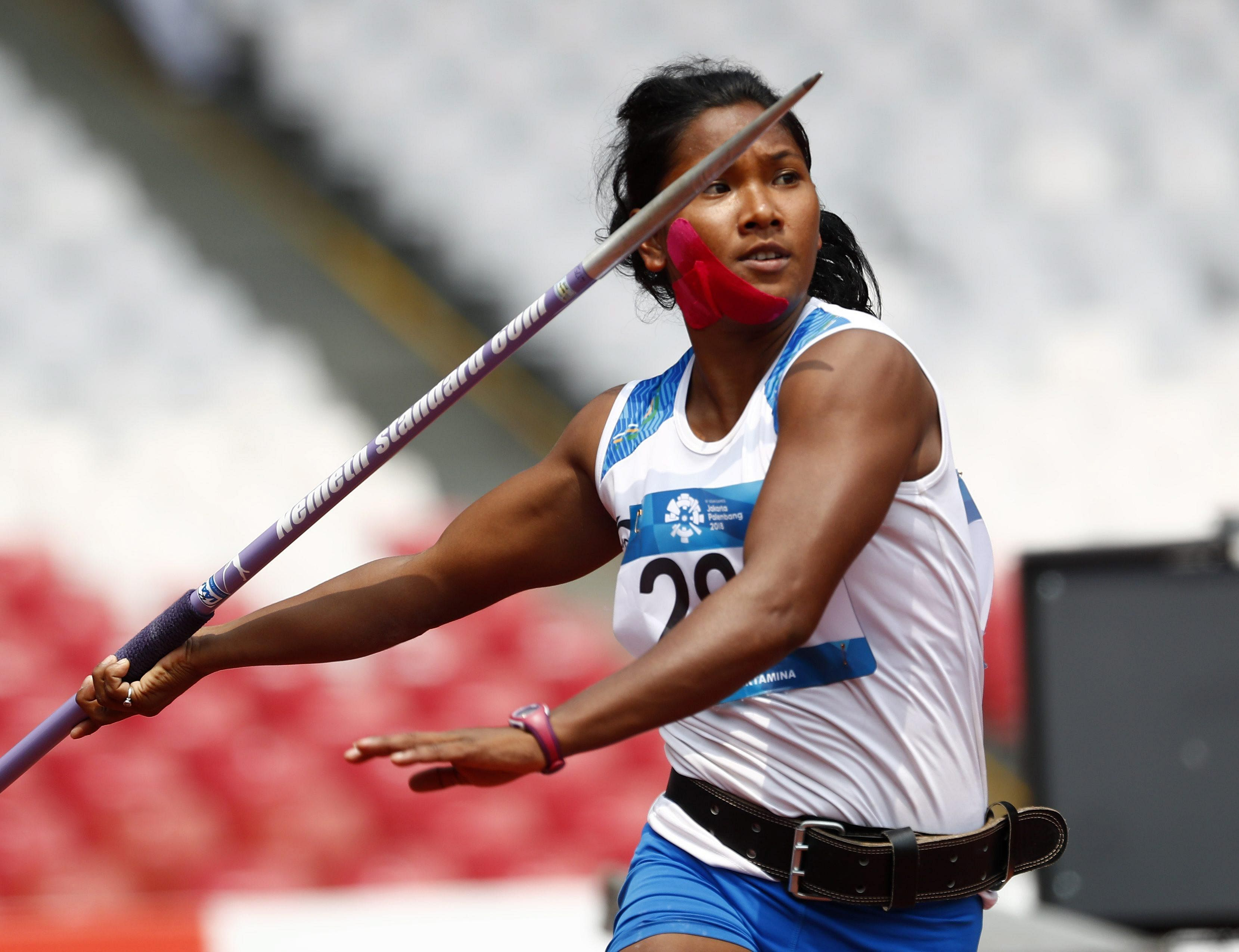 Swapna Barman is an Indian Heptathlete won gold medal in Asian games 2018. Barman's father got bed ridden when she was a teenager and her mother is a tea estate worker. The Arjuna Awardee faced extreme poverty, being born in a family of four children, and it was the prize money and scholarship money which helped her.