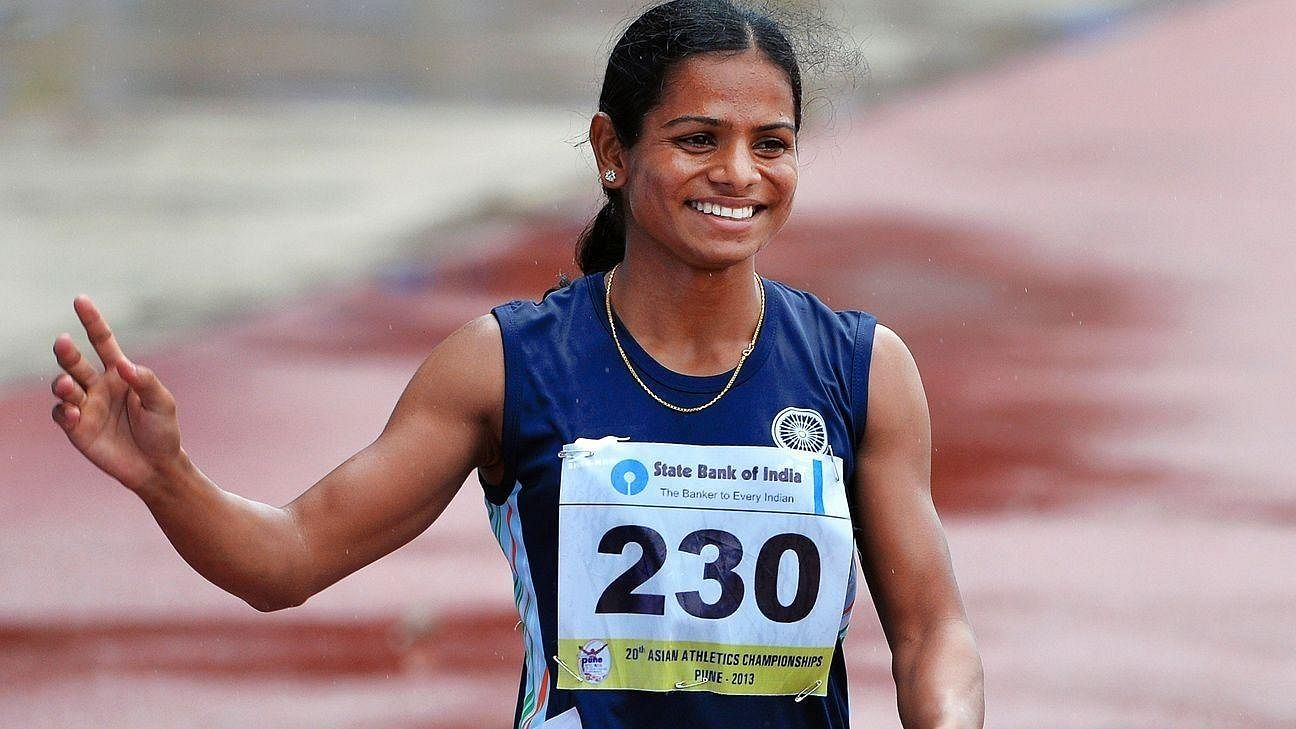 Dutee Chand, who was born into a weavers family, is the third Indian woman to qualify for the Woman's 100 metres event at Olympics. The 24-year-old sprinter was dropped from 2014 commonwealthgames due to hyperandrogenism and after a legal battle and rule change, she was back into the contingent. Chand is the only Indian athlete to openly come out as a member of the LGBTQ+ community.