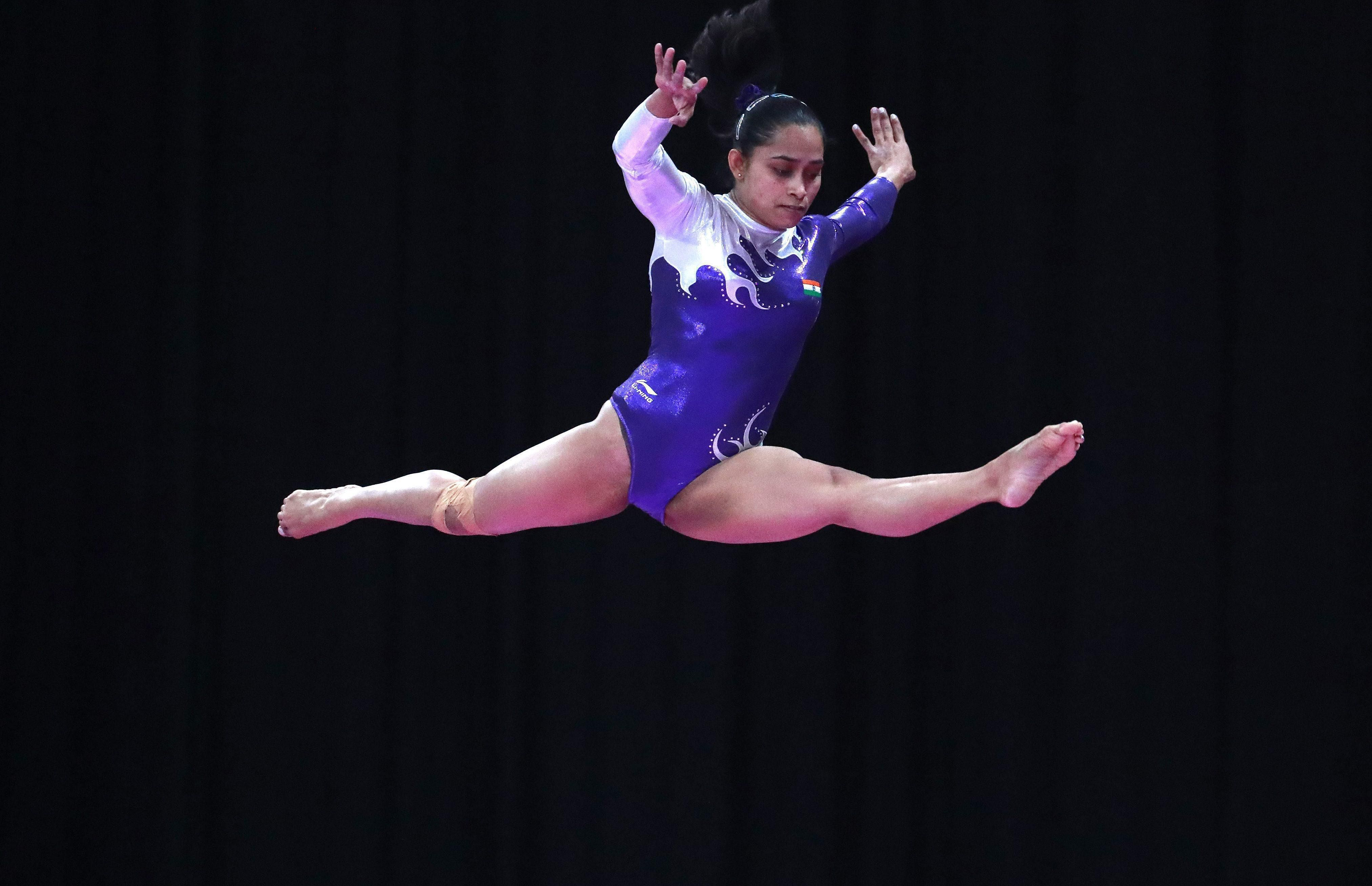 Dipa Karmakar is the first Indian female gymnast to win a bronze medal at commonwealth games 2014. Karmakar was born with a flat feet, an unfavourable trait for gymnast, through her extensive training developed an arch in her foot. She was named in Forbes list of super achievers from Asia under the age of 30 in 2017.