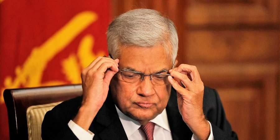 Ex-Sri Lanka PM Ranil Wickremesinghe