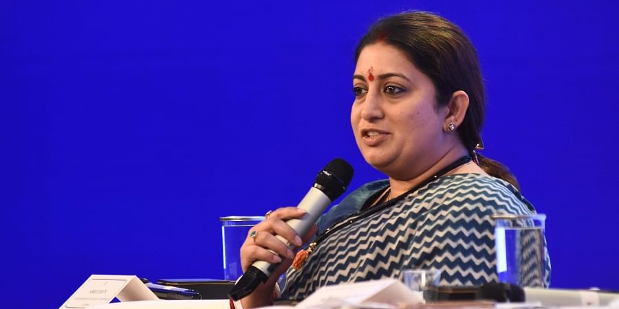 Women and Child Development Minister Smriti Irani (File Photo | EPS)