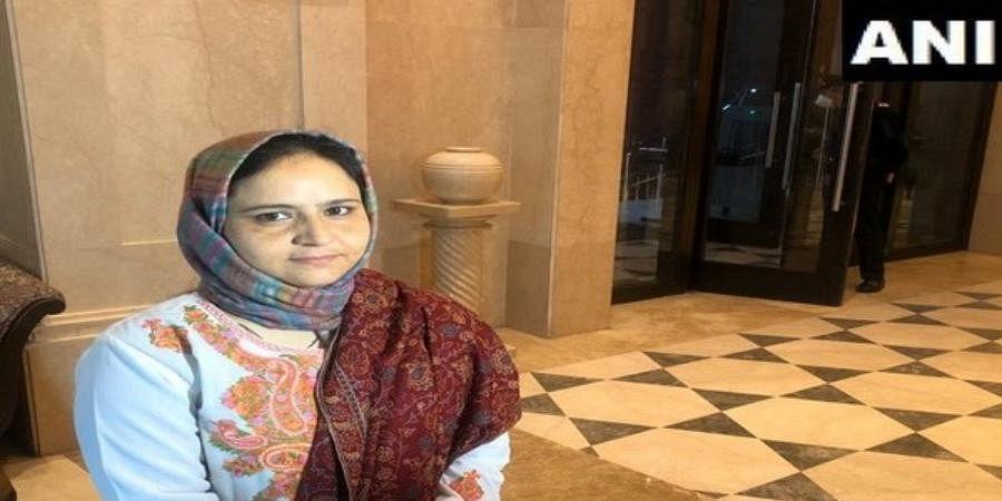 Kashmiri woman Arifa Jan