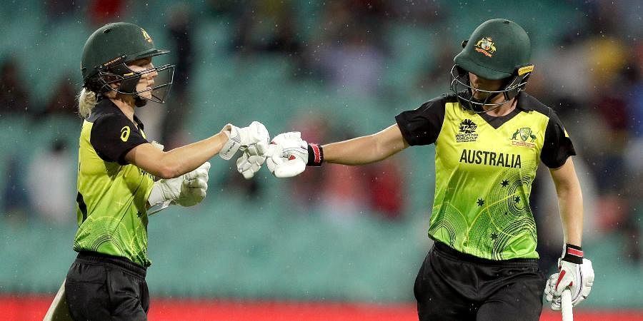 Australia elected to bat first against India in the Women's T20 World Cup final.