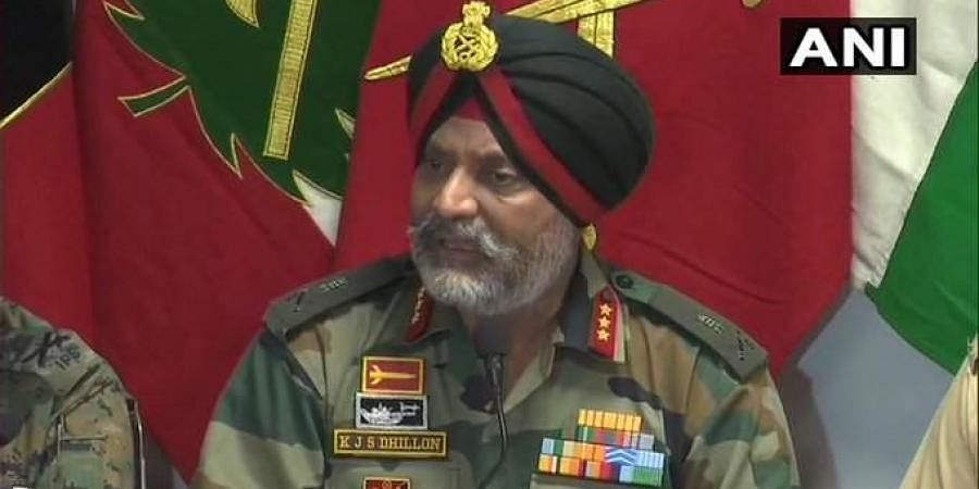Lt General KJS Dhillon