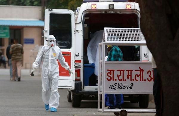 Rajasthan nurse on coronavirus dutywatches mother's funeral via video call