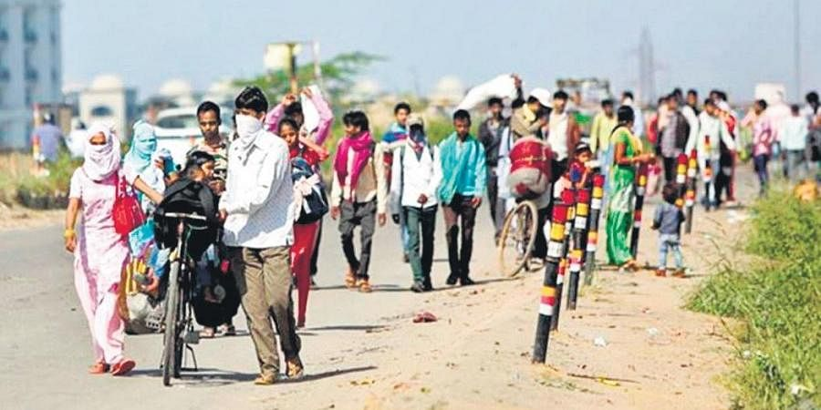 Exodus of migrant labourers throws FMCG supply chain into disarray- The New  Indian Express