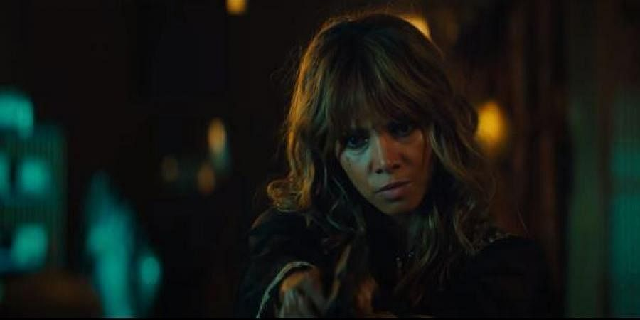 Halle Berry in a still from 'John Wick 3'