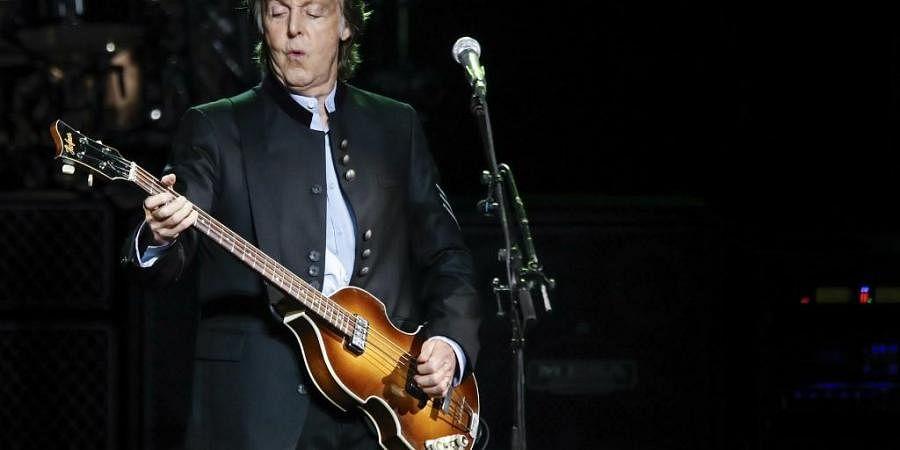 The Beatles frontman Paul McCartney. (Photo| AFP)