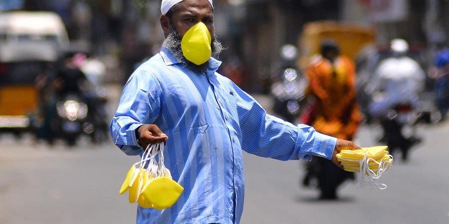 mask seller, Chennai coronavirus
