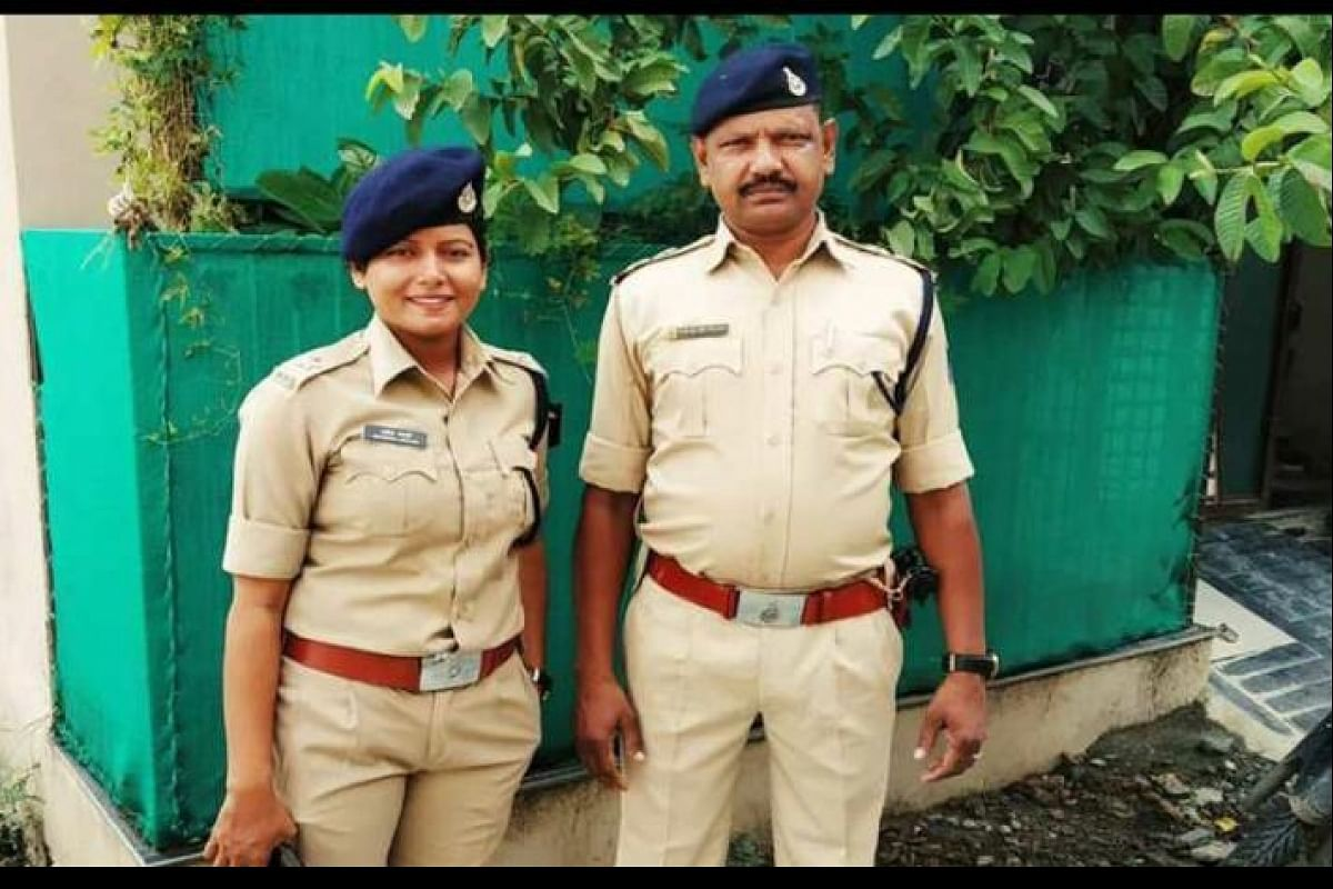 SI father, trainee Inspector daughter work in same police station in MP,  courtesy the lockdown- The New Indian Express