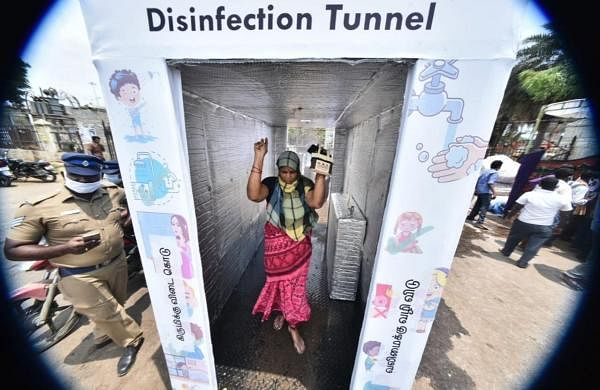 COVID-19: Supreme Court seeks response from Centre on plea to ban disinfection tunnels