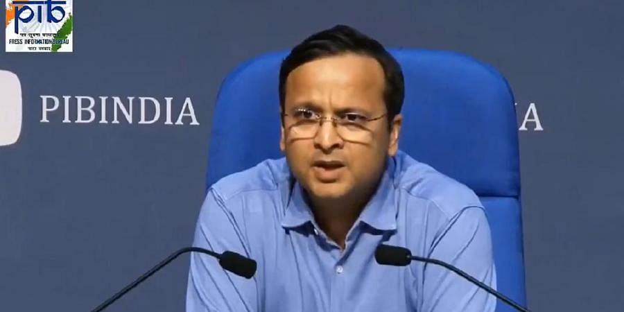 Joint Secretary (Health Department) Lav Agarwal