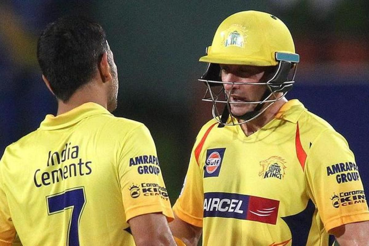 Former CSK batsman Michael Hussey says MS Dhoni moves over losses ...