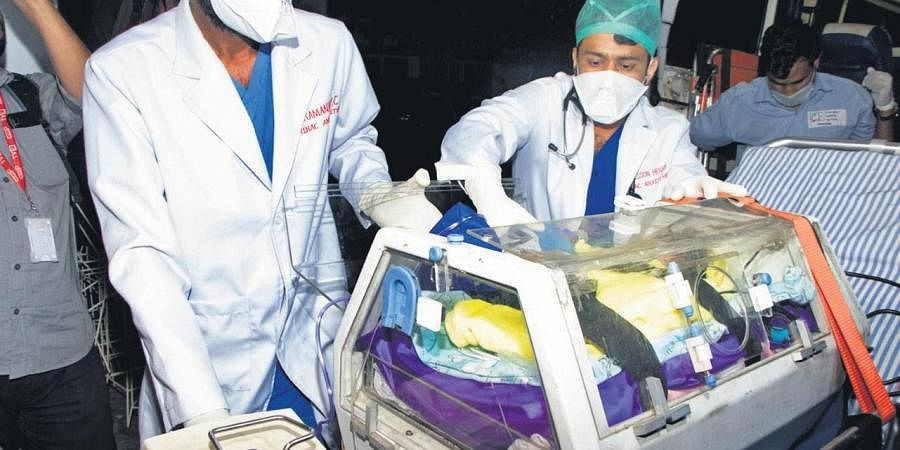 TN baby with heart disease gets lease of life in Kochi ...