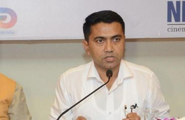 Goa CM Pramod Sawant retracts his statement on community transmission