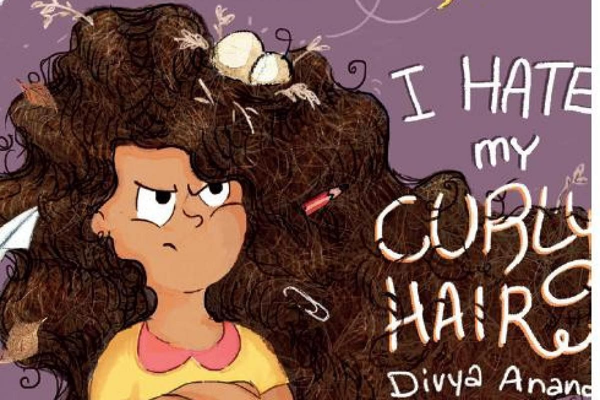 I Hate My Curly Hair Author Divya Anand Aims To Help Young Girls Accept Their Curly Hair Better The New Indian Express