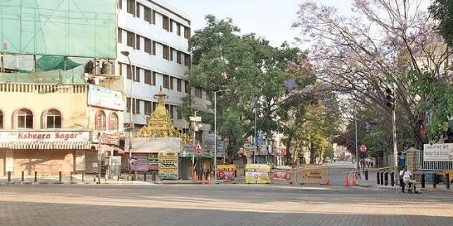 Gandhinagar locality, which is a hub of small- and medium-sized hotels, has been wearing a deserted look since the lockdown.