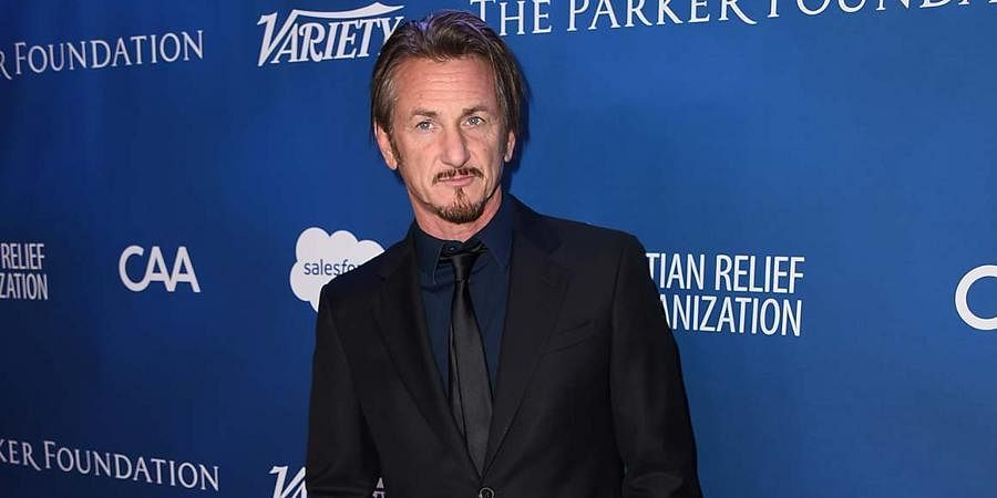 Hollywood actor Sean Penn