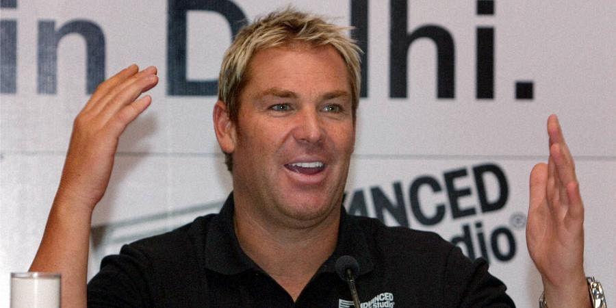 Former Australian spinner Shane Warne