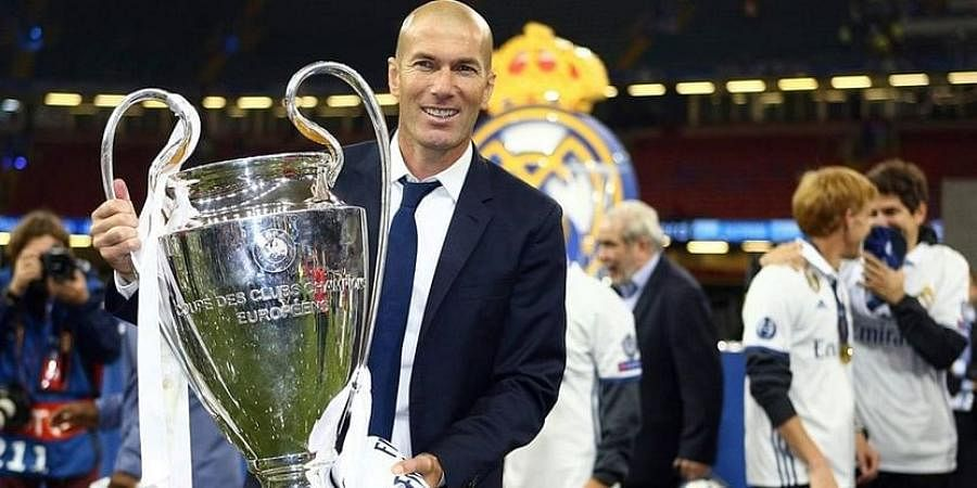 Real Madrid gaffer Zinedine Zidane