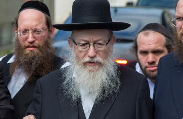 Israel's health minister Yaakov Litzman tested positive for coronavirus, top officials to isolate
