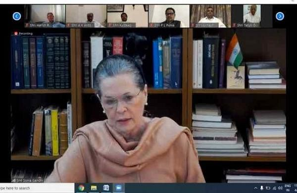 Coronavirus lockdown necessary, but unplanned nature caused chaos: Sonia Gandhi in CWC meet