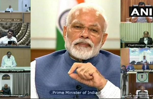 PM Modi holds COVID-19 review meeting with Chief Ministers, discusses problems