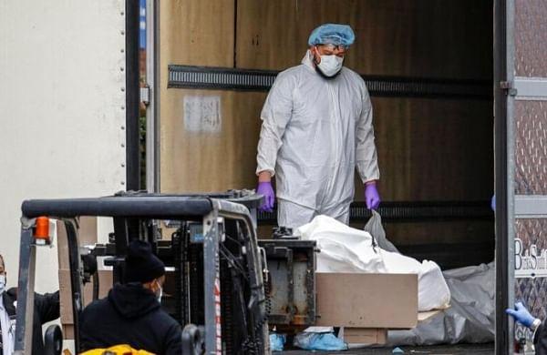 Coronavirus crisis: US agency seeks 100,000 body bags as death toll mounts