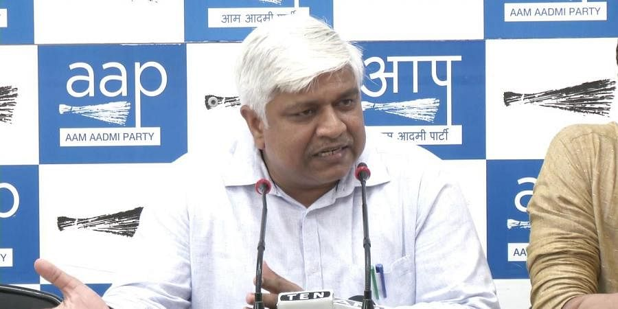 Delhi's Social Welfare Minister Rajendra Pal Gautam