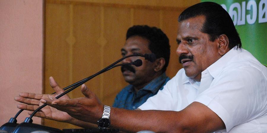 Kerala Industries minister EP Jayarajan