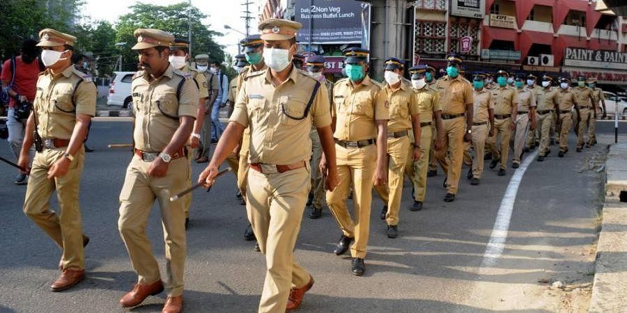 Kochi police, Kerala police, coronavirus