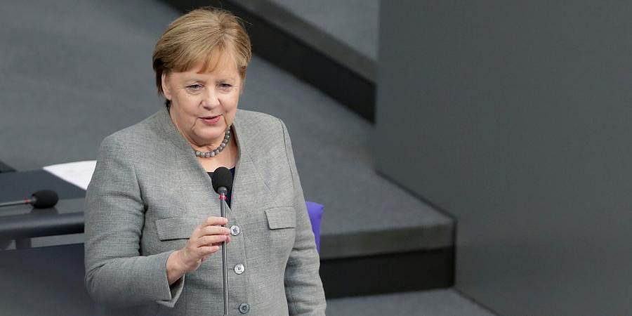 German Chancellor Angela Merkel Calls For International Cooperation Against Coronavirus The New Indian Express