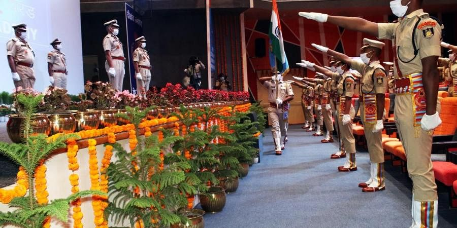 CRPF passing out parade