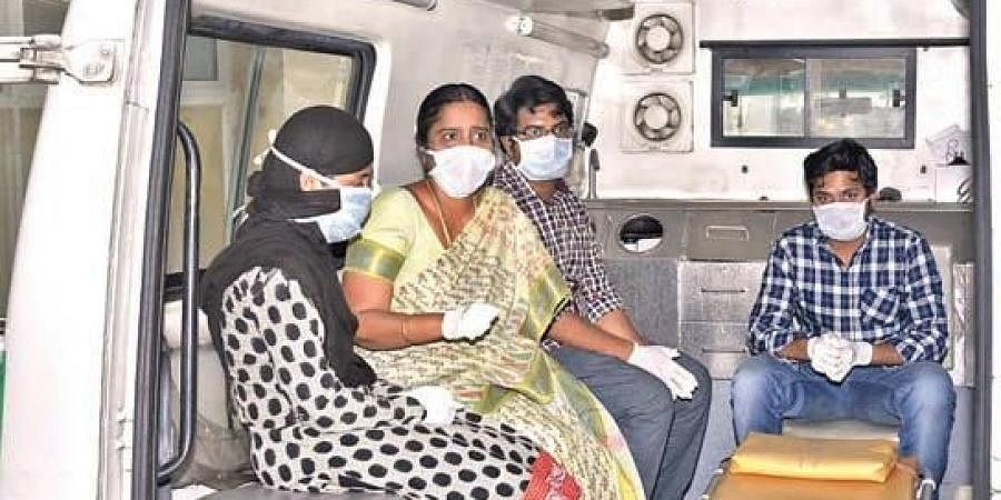 Two doctors and two nurses were discharged from Covid hospital in Anantapur after being tested negative for the virus on Thursday.