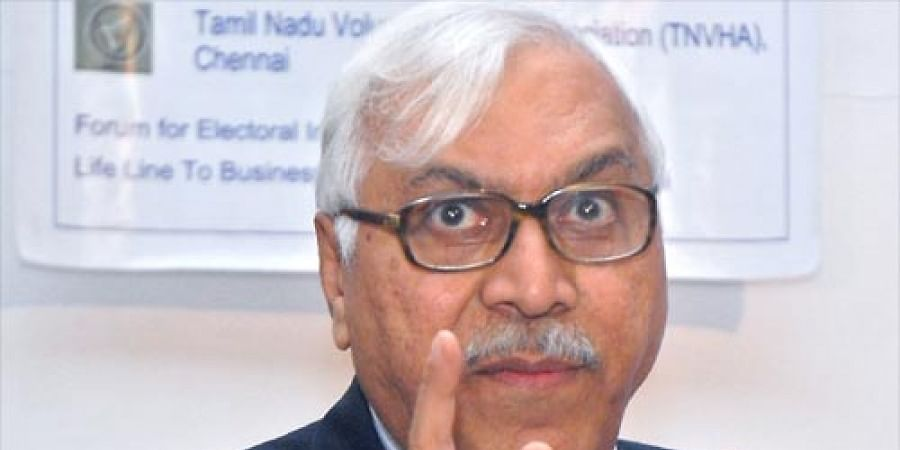 Former Chief Election Commissioner S Y Quraishi