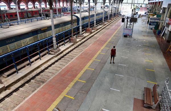 Mind the gap: Railway stations to ensure social distancing after ...