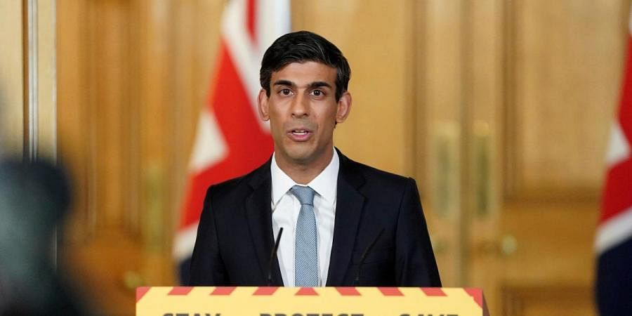 UK Finance Minister Rishi Sunak