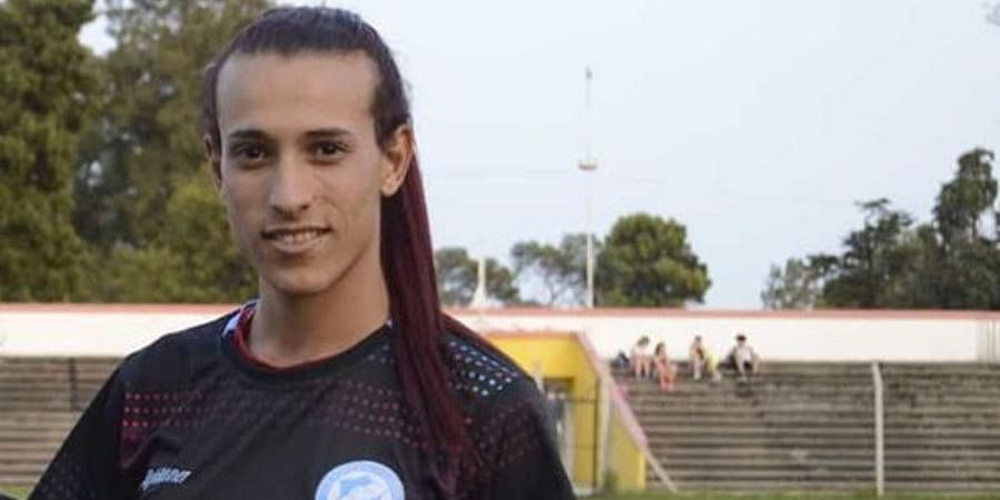 Tall, slim and with her hair tied back in a ponytail, Mara Gomez plays for the team of Villa San Carlos in La Plata.